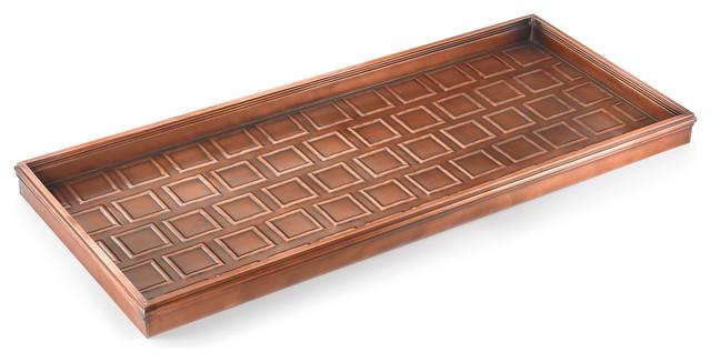 Squares Multi-Purpose Shoe Tray.
