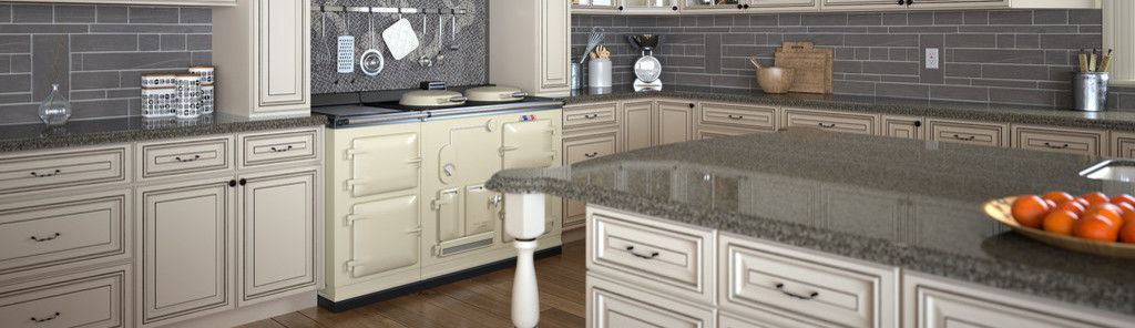 prestige kitchen cabinets and travertine tile