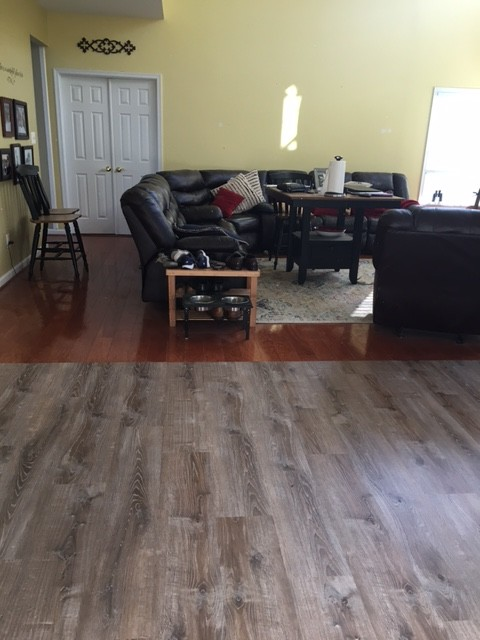 I Donu0027t Like My New Kitchen Floors And The Transition To Family Room