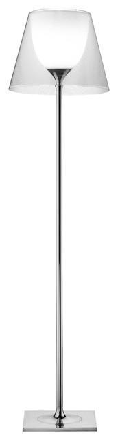 Flos KTribe Double Floor Lamp, Transparent