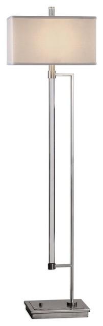Uttermost Mannan Modern Floor Lamp.