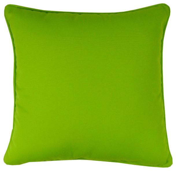 """Sunbrella Macaw Indoor/Outdoor Pillow, 18""""x18"""""""