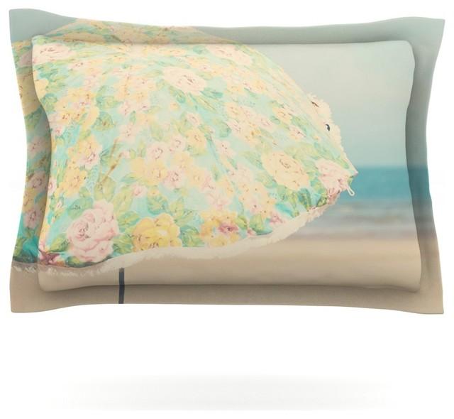 Laura Evans A Summer Afternoon Blue Teal Pillow Sham