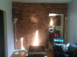 Help Picking Paint Color To Go With Exposed Red Brick Wall