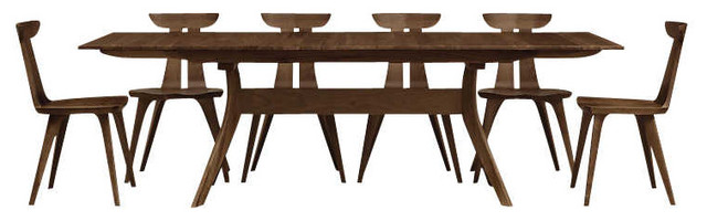 Audrey Extension Table By Copeland Furniture Natural Walnut