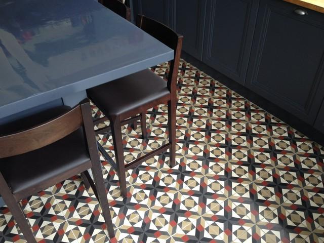 r alisations carreaux ciment cuisine by ateliers zelij. Black Bedroom Furniture Sets. Home Design Ideas