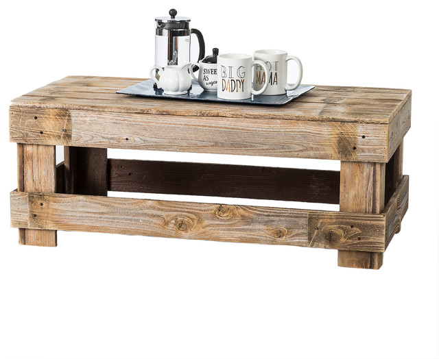 (del)Hutson Designs   Barnwood Coffee Table, Barnwood   Coffee Tables