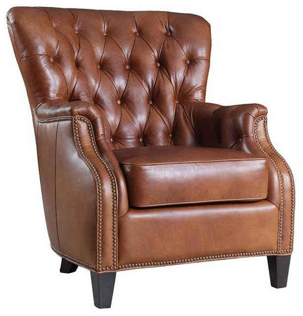 Hooker Furniture Leather Club Chair Amp Reviews Houzz