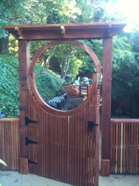 garden gate on Pinterest Gate Design Moon Gate and Gates