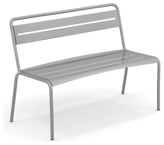 Peachy Emu Star Steel Outdoor Bench Glossy Aluminum Ncnpc Chair Design For Home Ncnpcorg