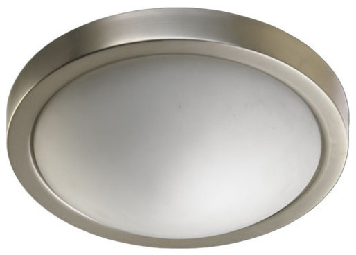 Quorum International Q3505-13 2 Light Flush Mount Ceiling Fixture.