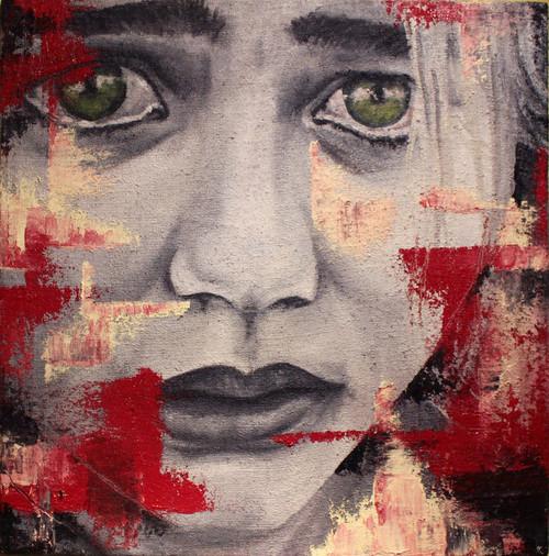 Sad Woman Famous Painting