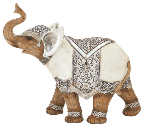 The March Elephant Figurine
