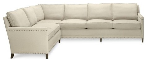 sc 1 st  Houzz : ivory leather sectional - Sectionals, Sofas & Couches