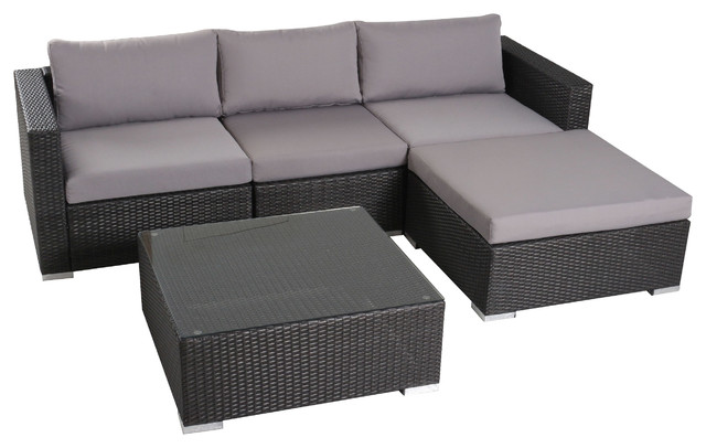 Popular Transitional Outdoor Lounge Sets by GDFStudio