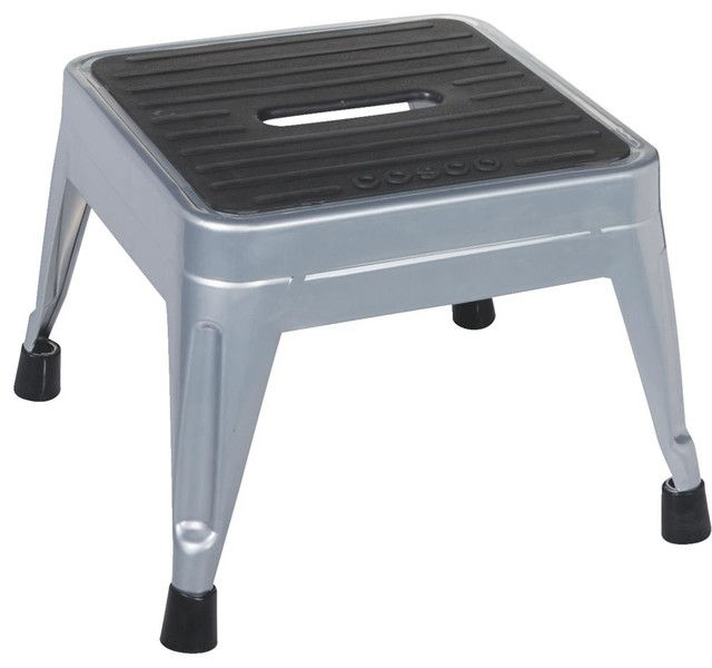 Cosco Home And Office 1 Step Metal Step Stool 11 010 Pbl4