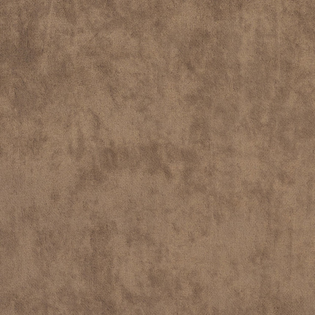 Taupe Plush Microfiber Velvet Upholstery Fabric By The Yard