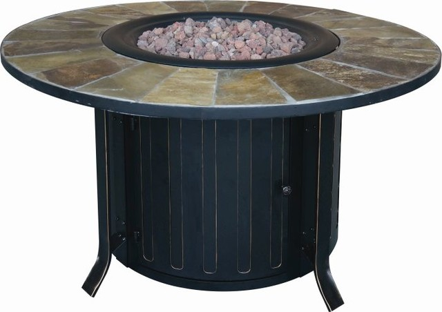 Bond Mfg 68448a Montini 46 Gas Fire Table Transitional Outdoor