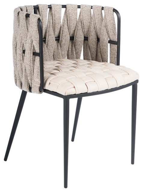 Milano Dining Chair, Off-White
