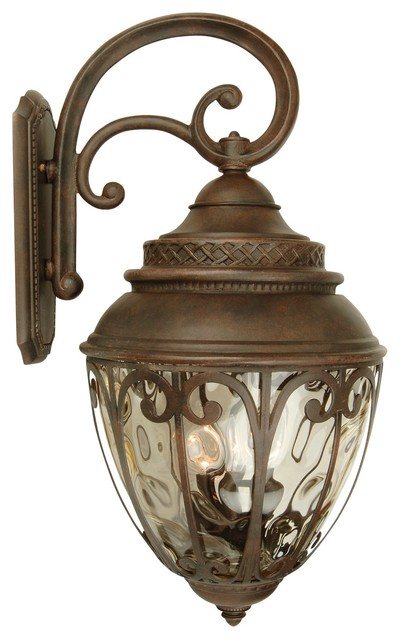 Craftmade - Olivier 4-Light Outdoor Wall Lights, Aged Bronze - View ...