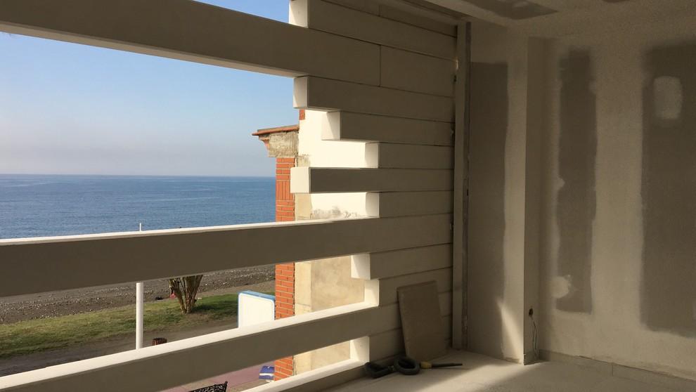 Edificio a pié de playa