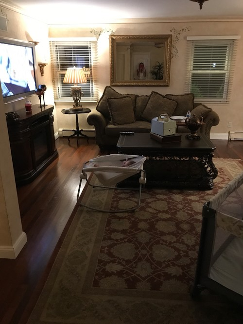 We Are Updating Our Family Room To A Transitional Style. Painting, Floors,  Furniture, Etc. Anyhow, Would You Do Two Couches As Pictured Or A Sectional?