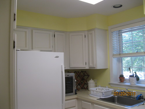Kitchen Cabinet Update?removing Center Of Cabinets