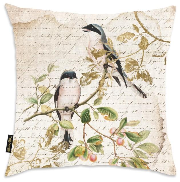 "Home ""sing Like Birds"" Pillow."