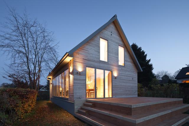 ferienhaus am p nitzer sees schleswig holstein f r thomas dietrich architektur modern. Black Bedroom Furniture Sets. Home Design Ideas
