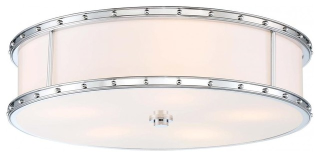 Minka Lavery Flush Mount - Chrome.