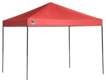 Shelter Logic 8&x27;x10&x27; Quik Shade St80 Straight Leg Canopy, Red.