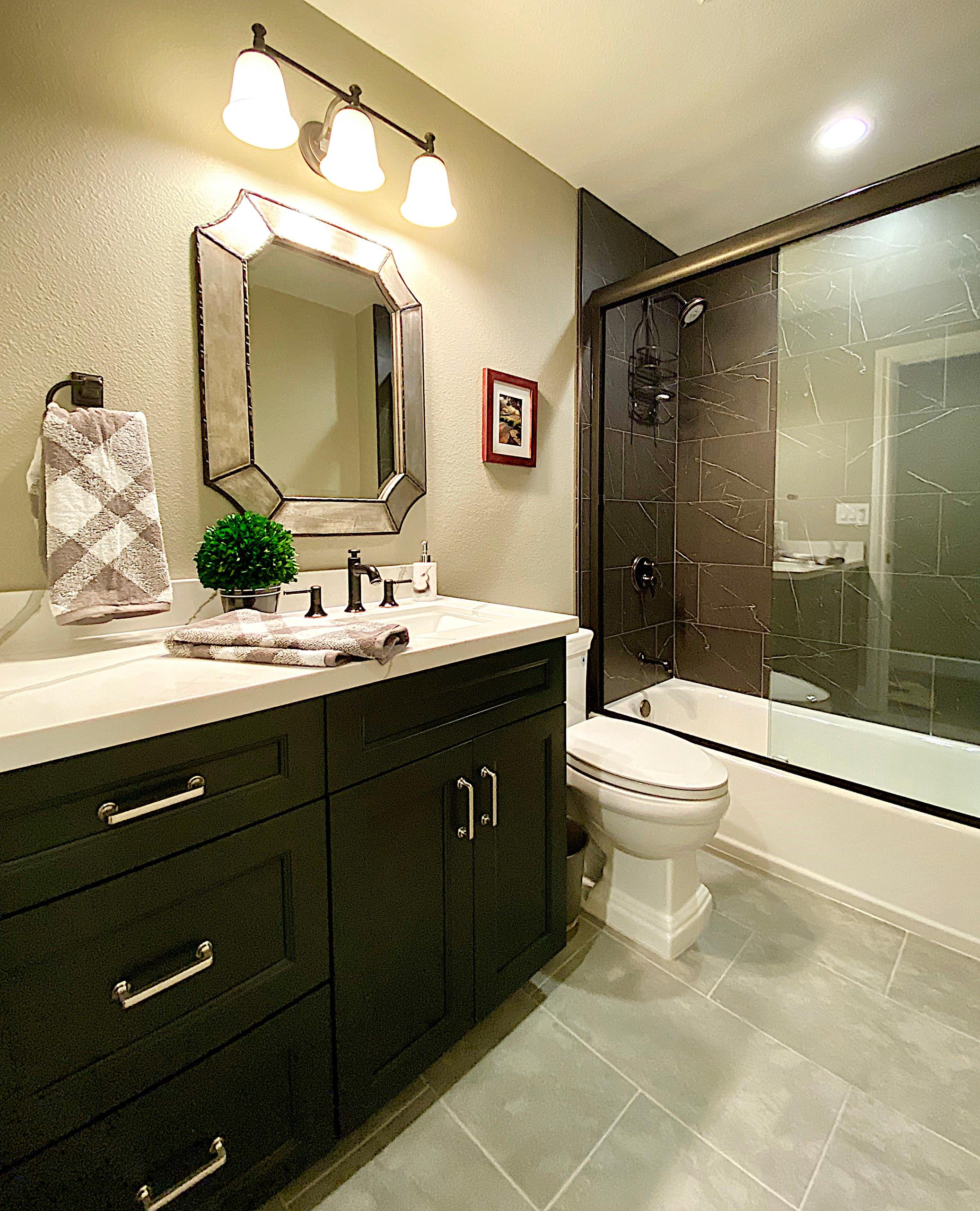 Simply Elegant Hall Bath