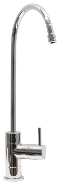 """Drinking Faucet For Ro Filtration System Polished Chrome, 6"""" Spout Reach, 9.25"""""""