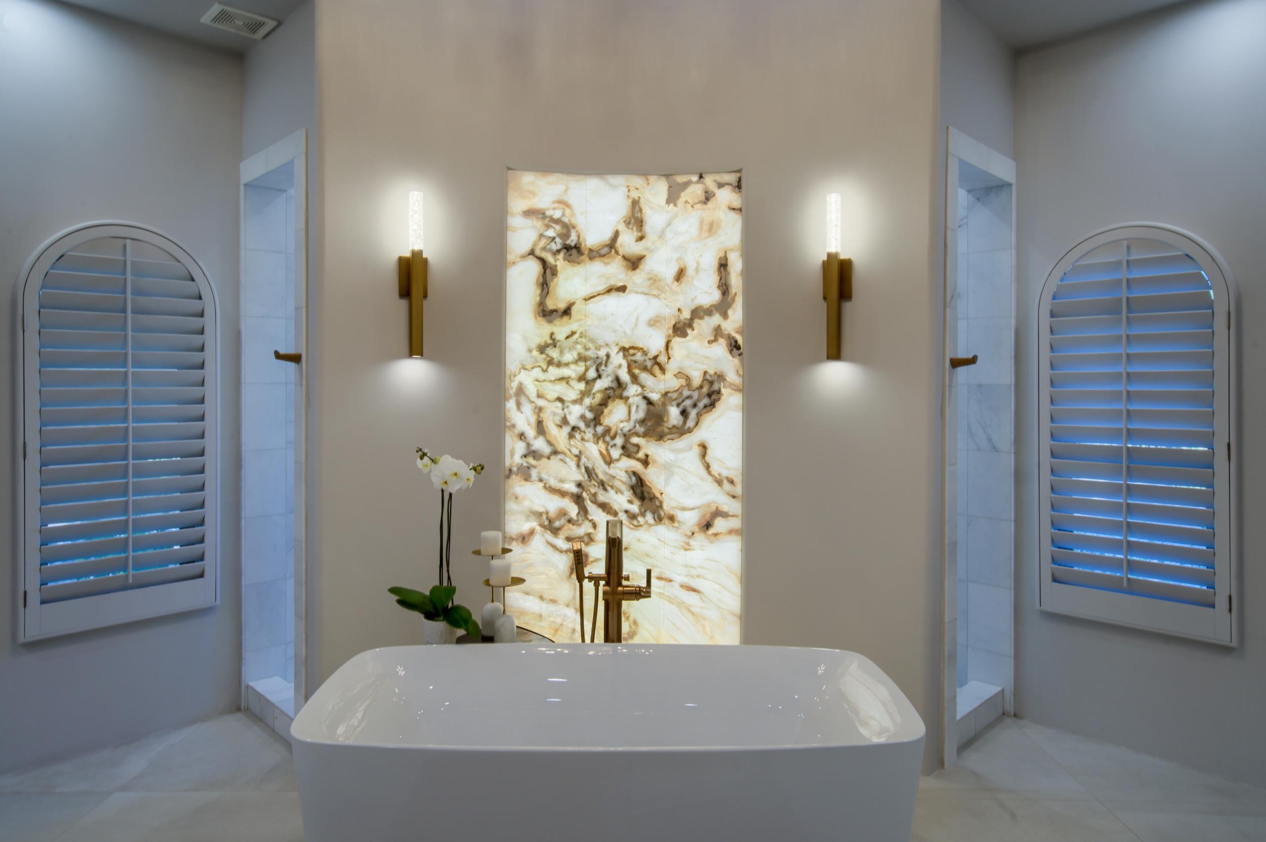 Paradise Valley Modern Master Bath