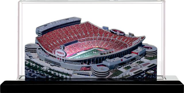 Kansas City Chiefs Arrowhead Stadium Jumbo With Display
