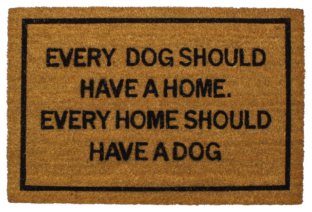 Clever doormats every dog should have a home doormat contemporary doormats by clever - Clever doormats ...