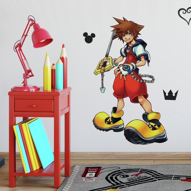 Kingdom Hearts Sora Peel And Stick Giant Wall Decal Contemporary Kids Wall Decor By York Wallcoverings Inc