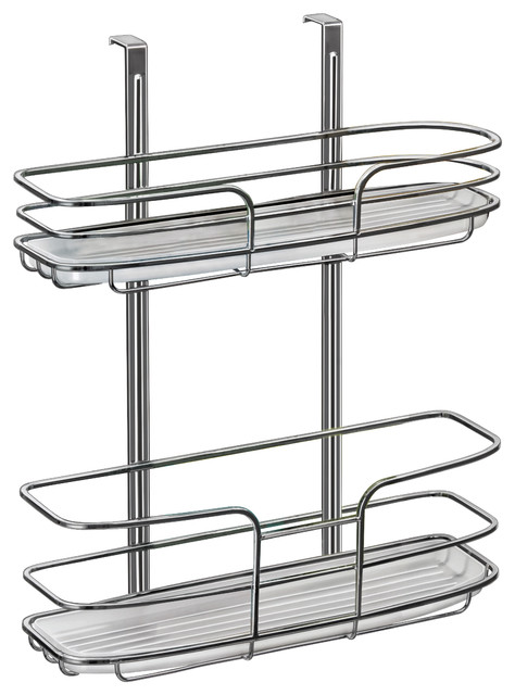 Lynk Over Cabinet Door Organizer, Tall Shelf, With Molded Tray ...