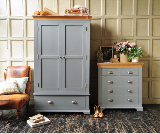 Henley Grey Bedroom Furniture Country Bedroom Other By The