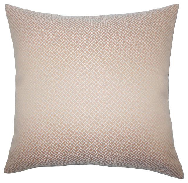 The Pillow Collection Pertessa Geometric Bedding Sham