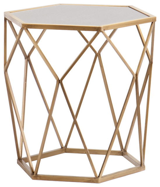Lynne Geometric Accent Table contemporary-side-tables-and-end-tables - Lynne Geometric Accent Table - Contemporary - Side Tables And End