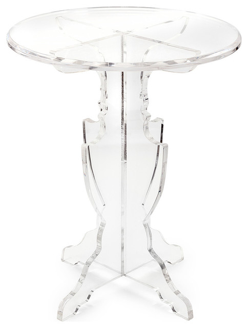 Chic Prestige Acrylic Accent Table Contemporary Side Tables And End Tables Part 33