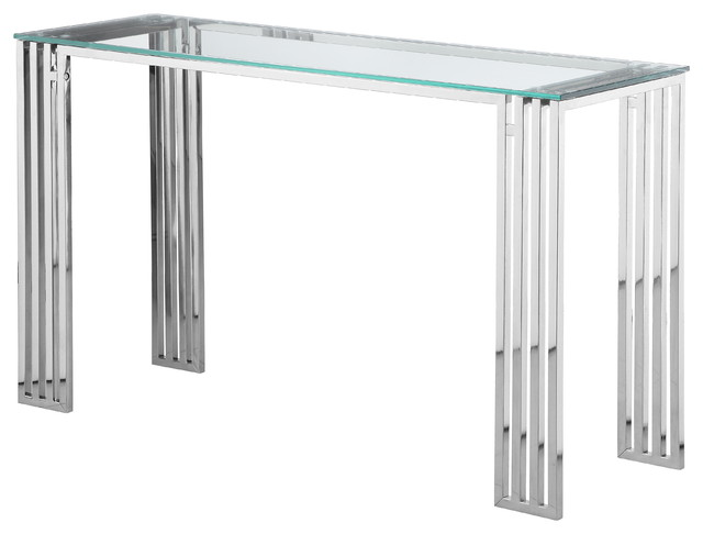 Glen Console Table Clear.