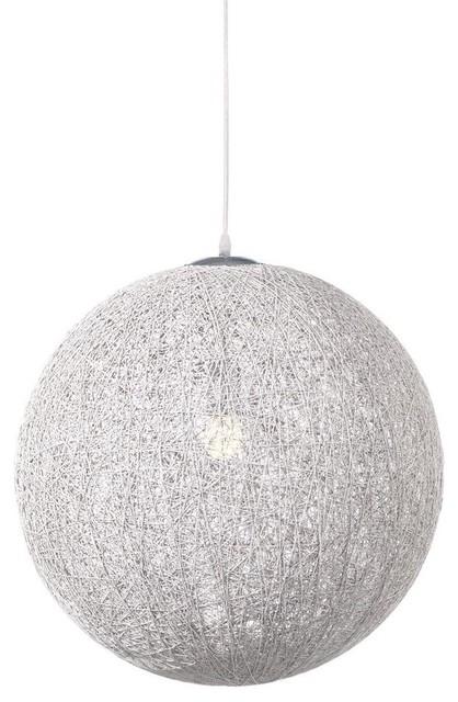 Round Pendant L& White contemporary-pendant-lighting  sc 1 st  Houzz & Modern Pendant Lamp Black - Contemporary - Pendant Lighting - by ... azcodes.com