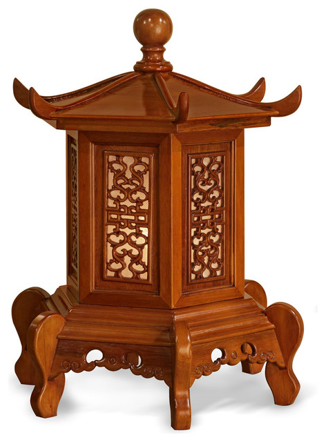 Rosewood Pagoda Lamp Asian Table Lamps by China  : asian table lamps from www.houzz.com size 472 x 640 jpeg 78kB