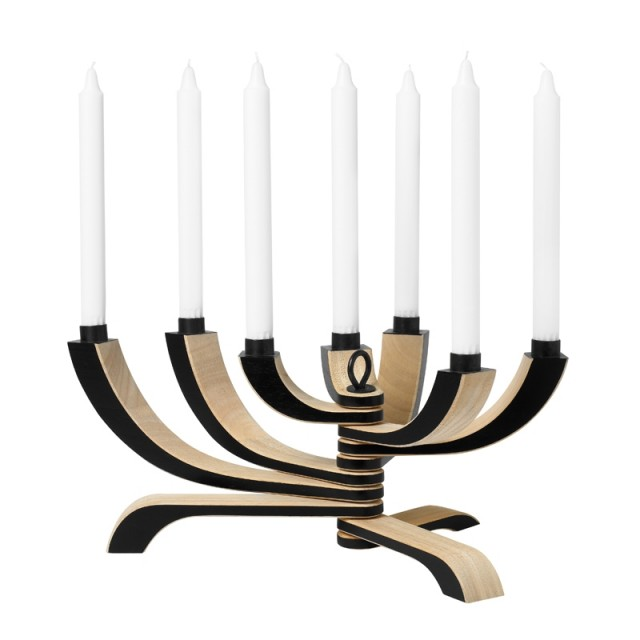 Nordic Light Candle Holder: 7-Arm