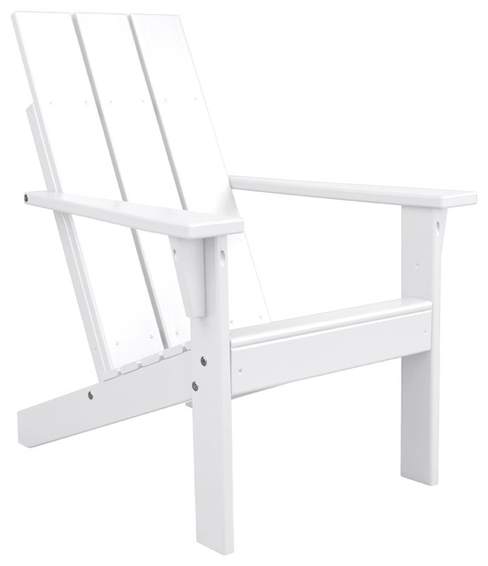 Porchgate Amish Made Heavy Duty Modern Adirondack Chair - Contemporary - Adirondack Chairs - by porchtopatio  sc 1 st  Houzz & Porchgate Amish Made Heavy Duty Modern Adirondack Chair ...