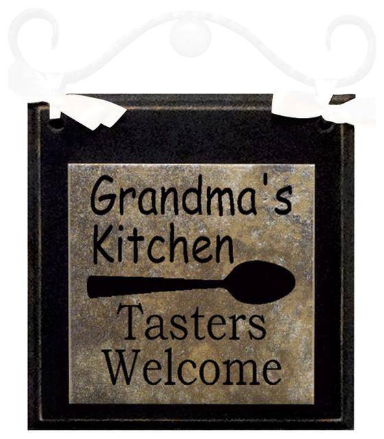 "Grandmothers Kitchen: ""Grandma's Kitchen"" Hanging Sign"