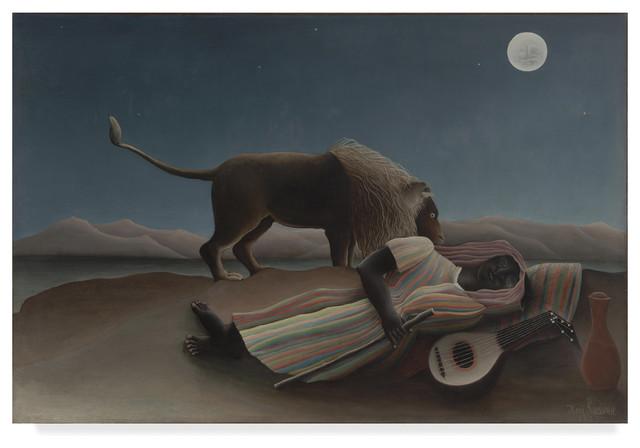 The Sleeping Gypsy Lion by Henri Rousseau Fine Art Repro FREE SHIPPING