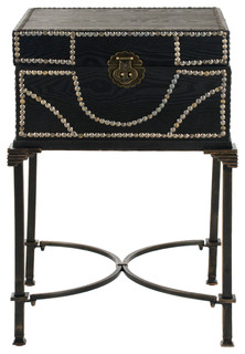 Anthony Side Table, Dark Brown